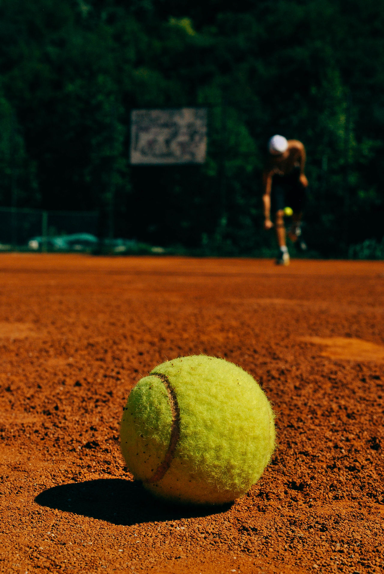 Beautiful stock photos of ball, Ball, Brown, Close-Up, Court