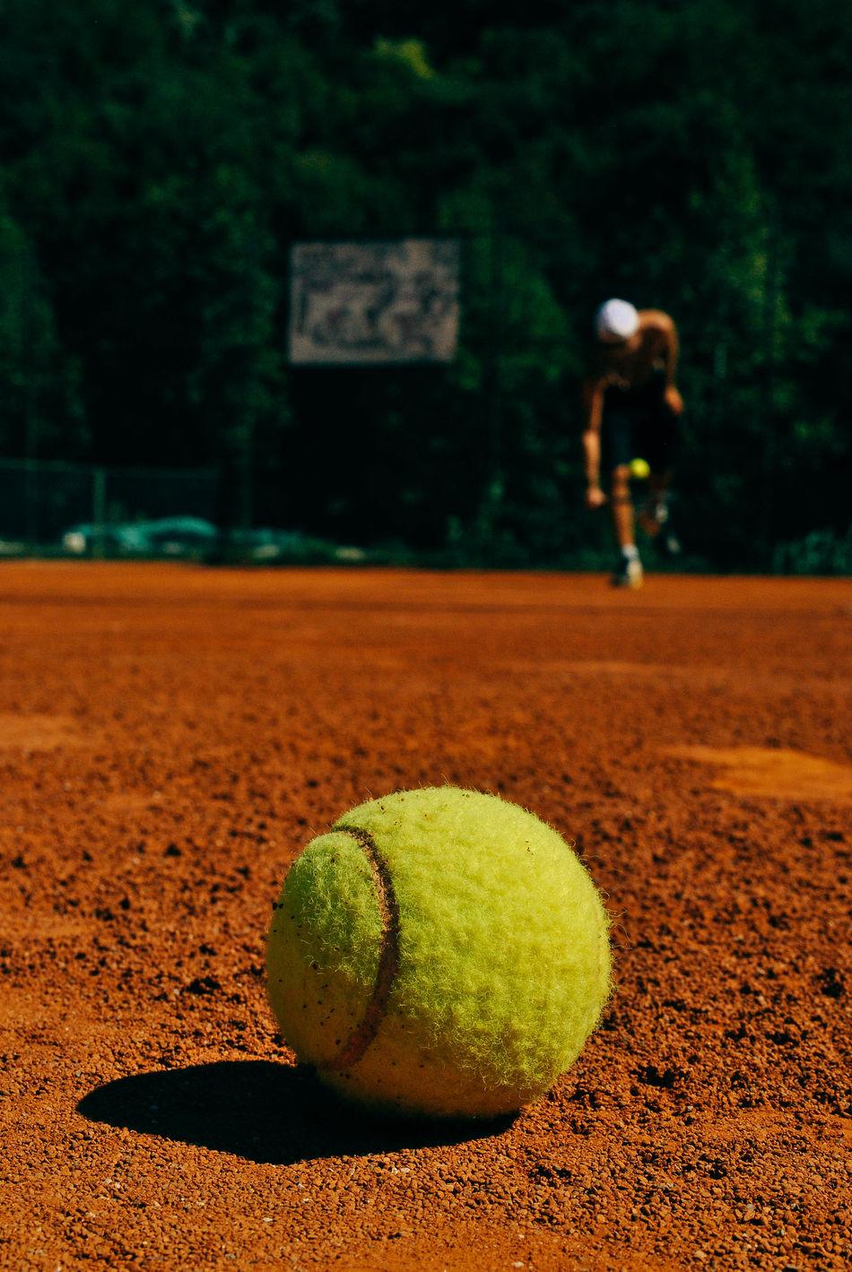 Beautiful stock photos of ball, Ball, Brown, Close-Up, Court