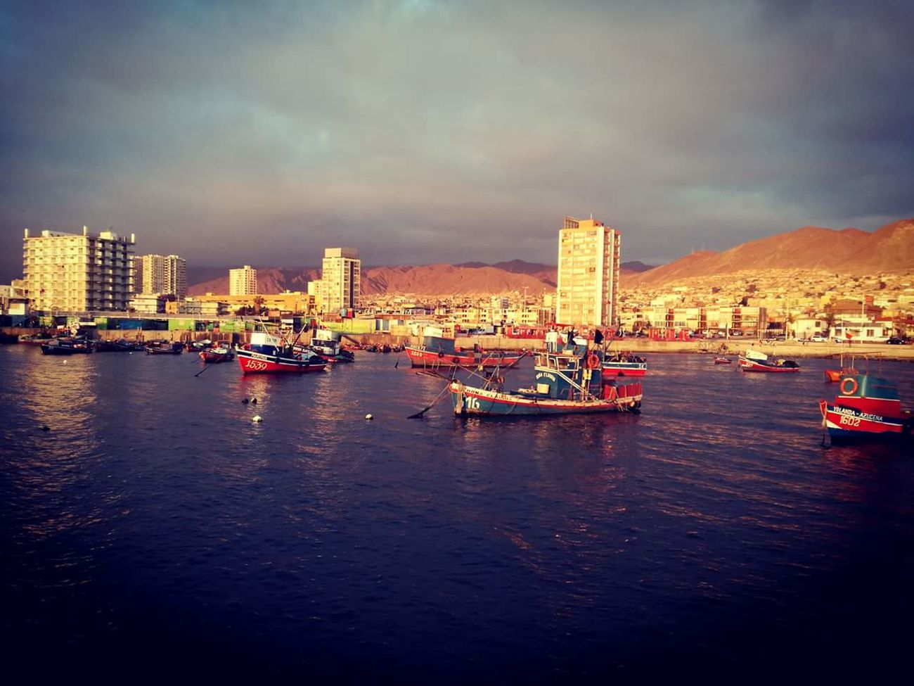 AntofagastaChile Huaweip9lite Antofagasta Horizon Over Water AntofagastaCity No People Nature Port