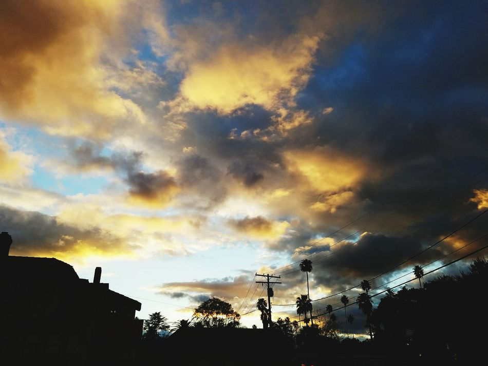 After The Storm Sunset Cloud - Sky Low Angle View Dramatic Sky Sky Outdoors Silhouette California Love Sky And Clouds Sky_collection Cloud_collection  Eye4photography  Southern California Cloud Formations Riverside, California Sunset_collection