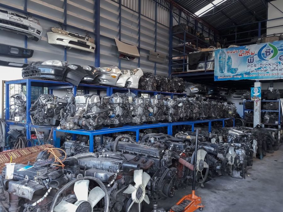 Car Plant Day Factory Indoors  Industry Large Group Of Objects Machinery No People Technology