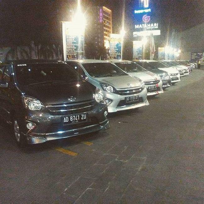 Tadi malem kopdar Sac VIPparking Hartonomall Agver