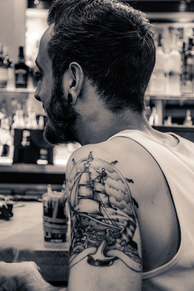 Tattoos Boy Black And White Black & White Monochrome People People Photography Taking Photos Taking Pictures Peoplephotography