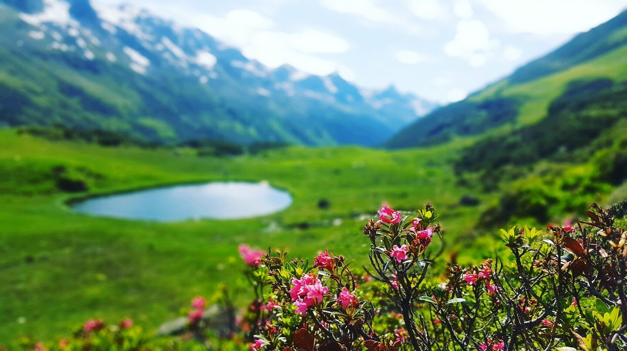 Vorarlberg  Monutain Lansdscape Austria Momentsinnature Silence Naturelovers Water Bergsee No People Relaxing Moments Beautiful Nature Landscape Skyline Naturelover