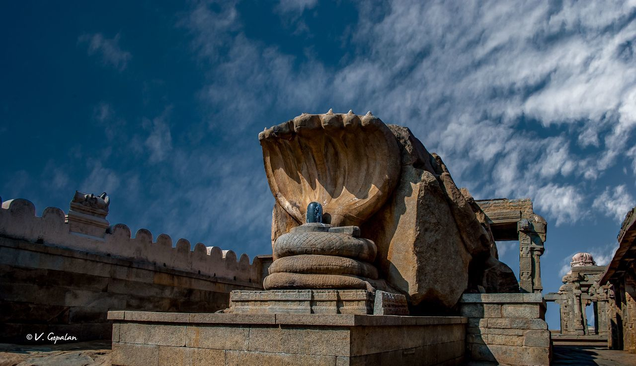 Ancient Architecture Indian Temple Indian Temples Lepakshi LepakshiTemple Sculpture Serpant Shiva ShivLinga