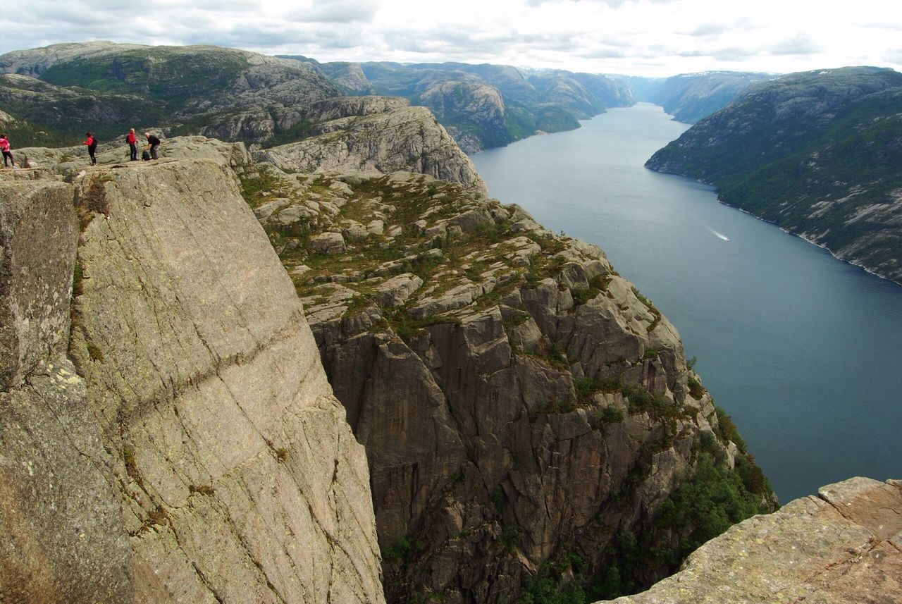 Beautiful stock photos of norway, Adventure, Beauty In Nature, Day, Four People