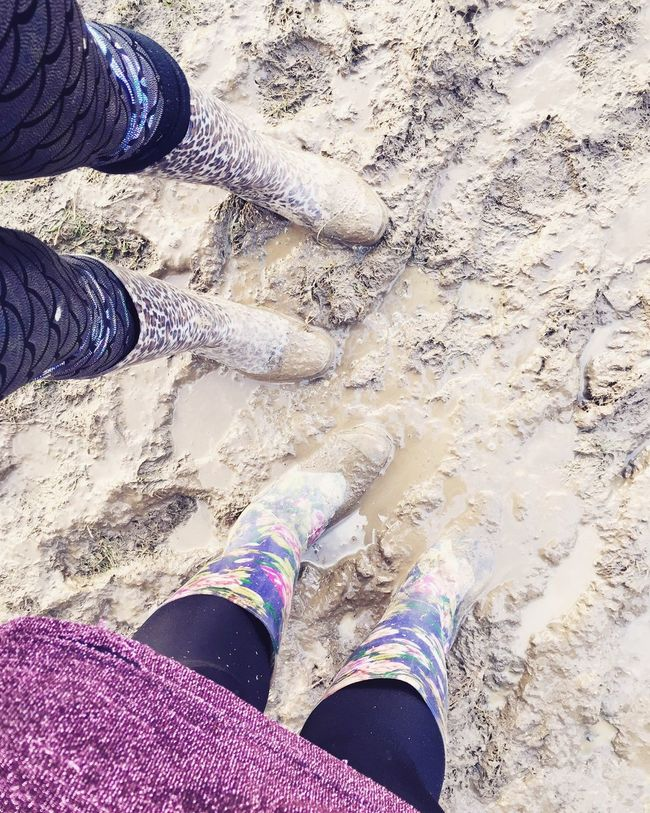 Mud Wellies  British Weather Festival Bestival Muddy Wellington Boots