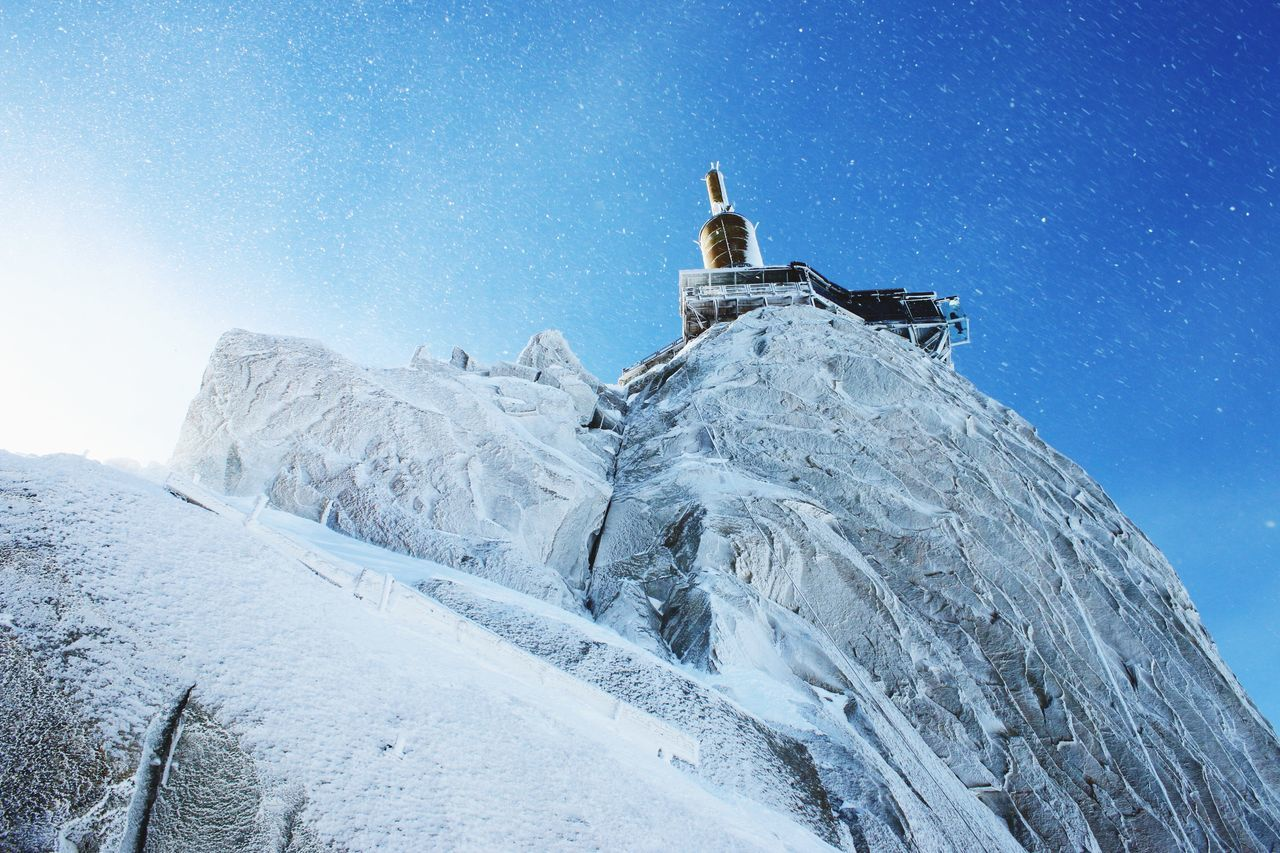 Beautiful stock photos of ice, Aiguille Du Midi, Beauty In Nature, Blue, Cold Temperature