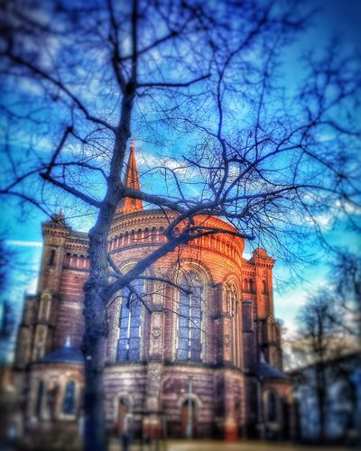 Zionskirche Igersberlin Beautiful Sunset Berlin Church IPhoneography Iphoneonly