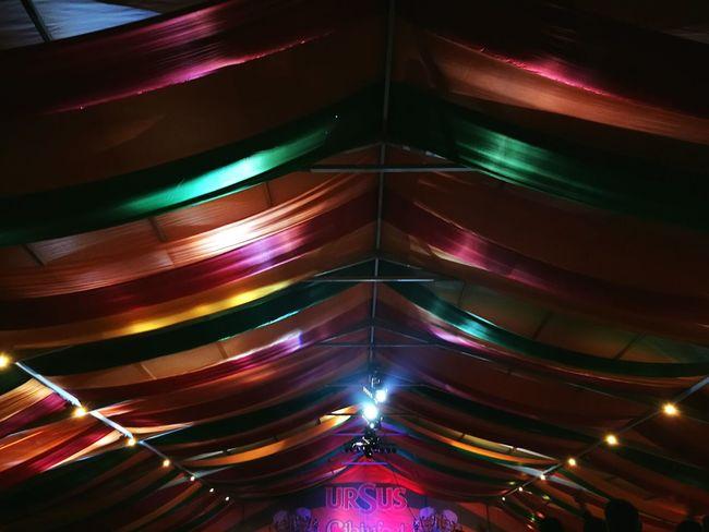 Beer fest ! Beer Oktoberfest 2016 Architectural Design Fluorescent Light Multi Colored Cibinfest