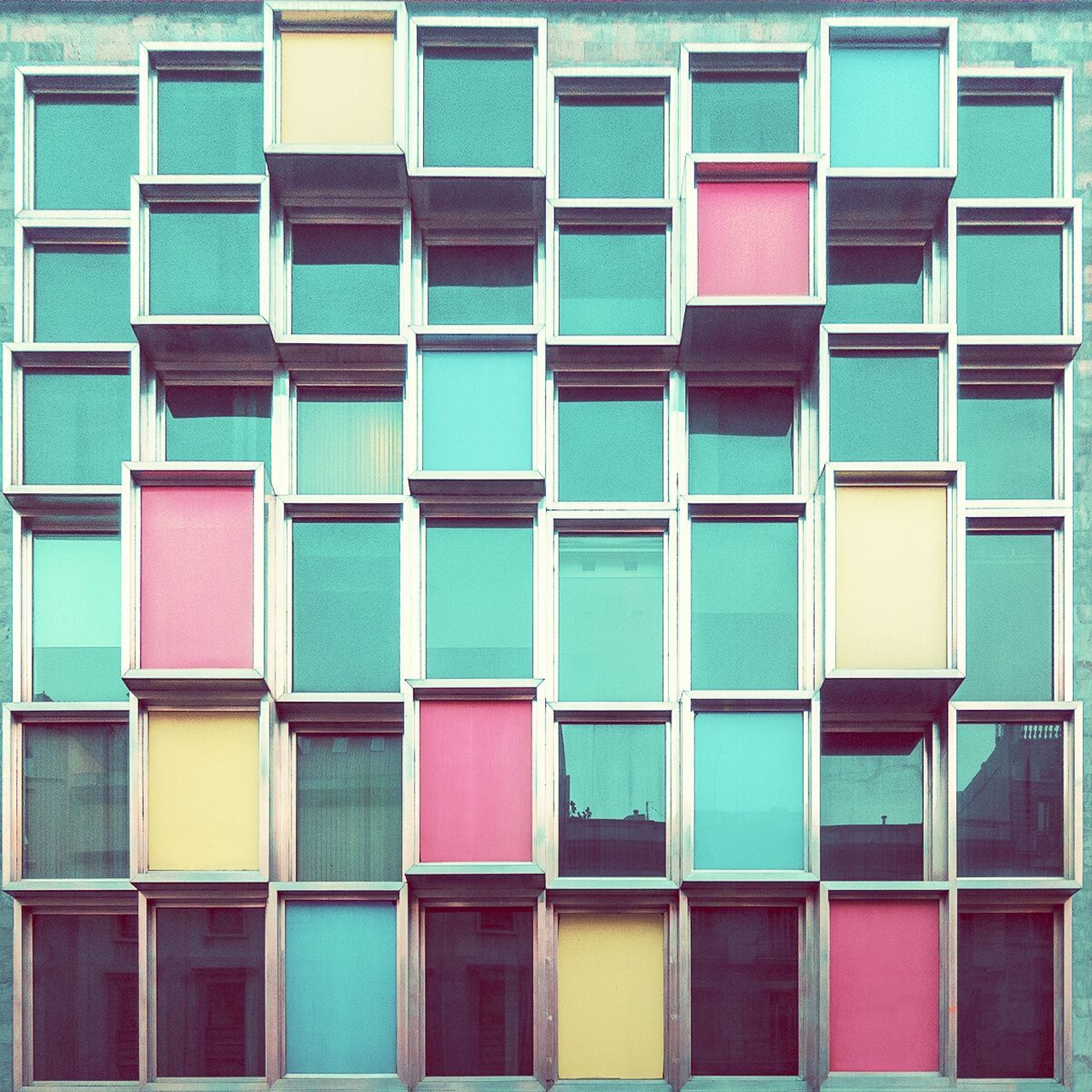 Excited mondrian | Mondrian excitado Architecture Straightfacade EyeEm Best Shots - Architecture Glass