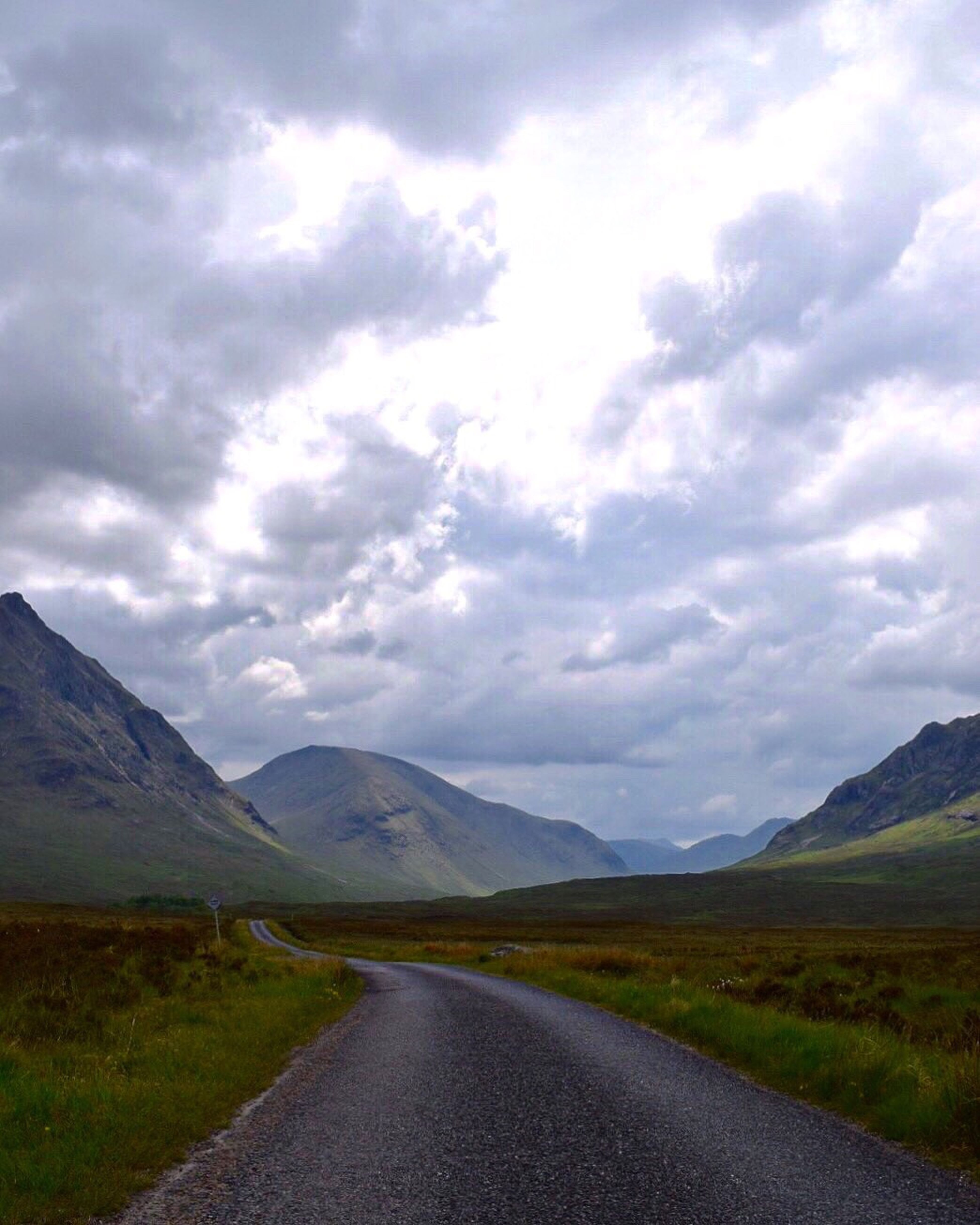 Glenetive scotland Mountain Scenics Sky Landscape Cloud - Sky Road Tranquility Tranquil Scene Mountain Range Beauty In Nature Nature The Way Forward Outdoors Day No People Winding Road