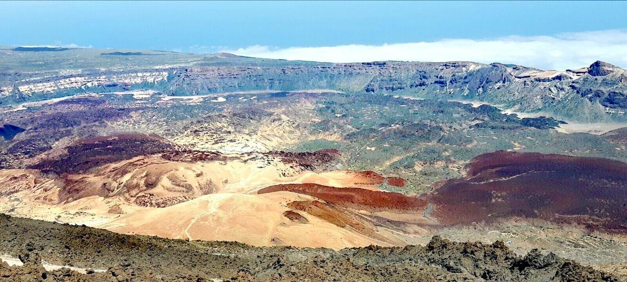 Teneriffa Teide On The Top