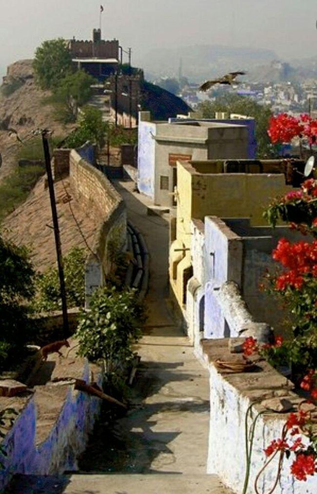 Eye4photography  Beautiful View Of Hill Jodhpur India