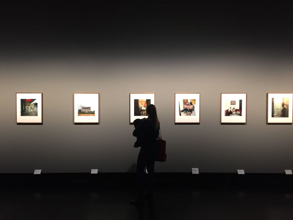 Museum Darkness And Light Photo Exhibition Exhibition Woman Shadow Shillouette