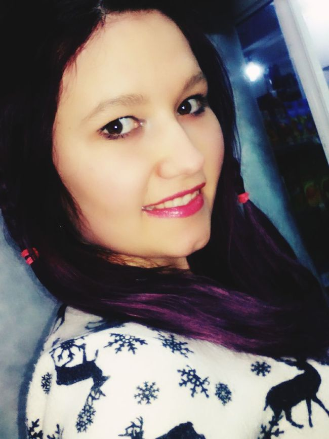 But in the end happines was against us.... Hi! That's Me Pretty Girl Lovely Hairstyle Makeup Pelo Pelovioleta Photo Selfie ✌ Smile ✌ ModelPose  Cancion Letras