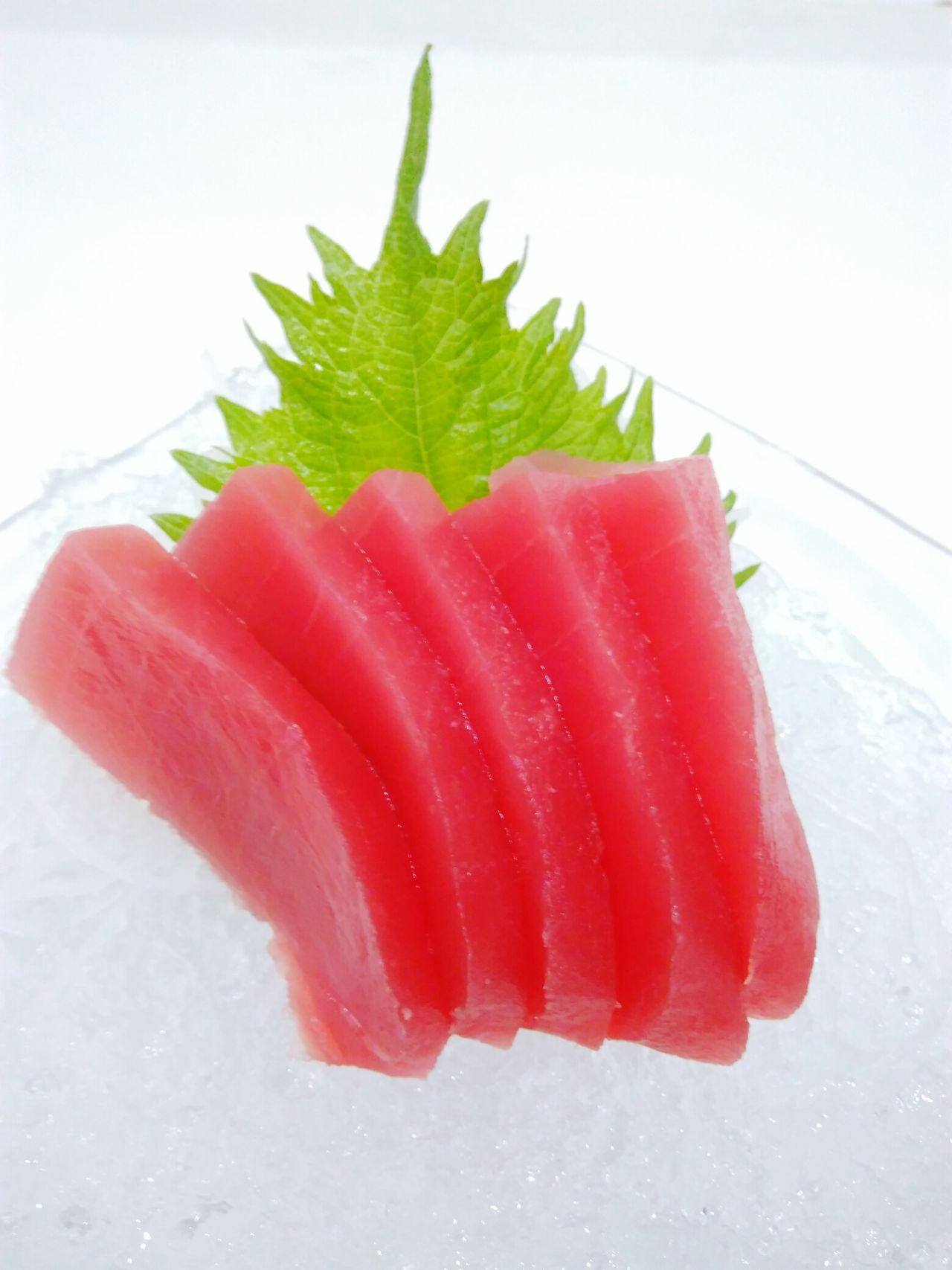 Makuro Sashimi Red Food Freshness Food And Drink Sashimi Dinner Sashimilovers Makuro Fish Healthy Eating Close-up No People Thailand Japanese Cuisine Japanese Style