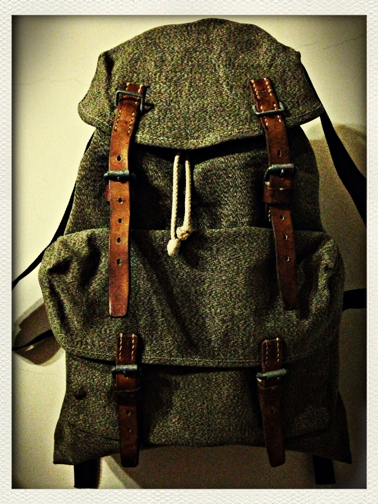 Swiss army backpack vintage