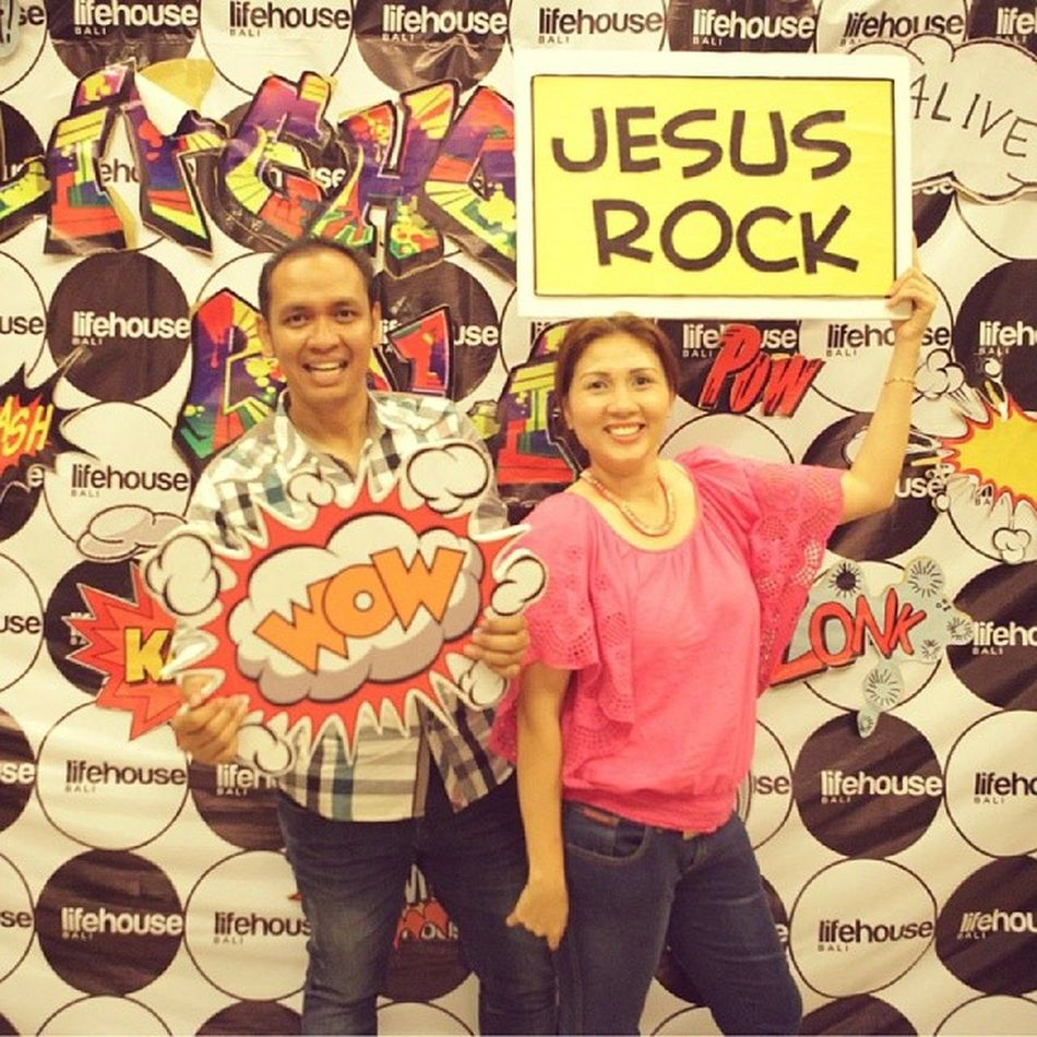 It's an honor & delight serving with her @lifehousebali