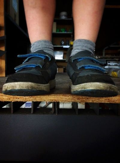 Feet No Faces Shoes Legs From My Point Of View Abstract Portrait Fatherhood Moments