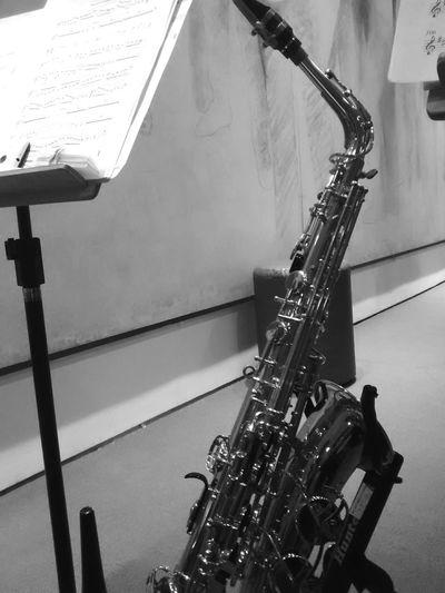 Auditoriodoibirapuera Ensaiodehoje Orquestraoba Saxofone Playing Retratos Blackandwhite