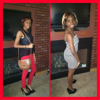 #UnPosted Me & My Sista Yesterday B4 Baker High Graduation