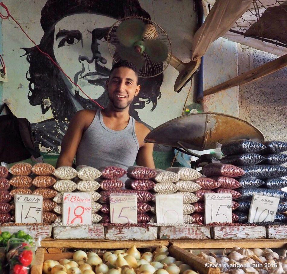 At the Market, Havana, Cuba Snapseed Cuba Collection Portrait Market Cuban Market Havana Cuba Cuban Life Cuban Man Cuba
