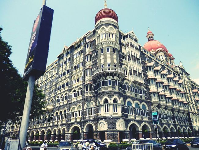 Taj Hotel Mumbai Hotelporn Side View Side Photo Beautiful The Architect - 2016 EyeEm Awards