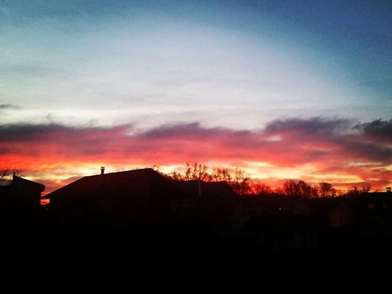 Morning skyline.. November Novembre Studeni Sunshine Alba Zagabria Zagreb