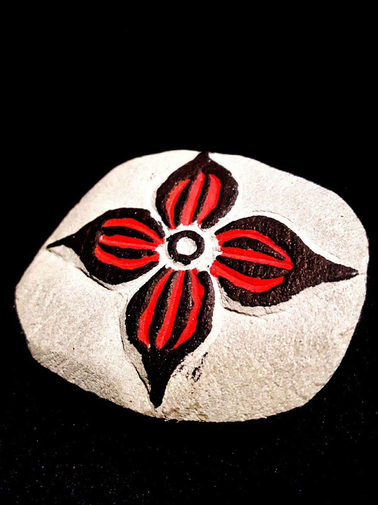 Black Background No People Close-up EyeEm Best Shots My Art, My Soul... EyeEm Best Edits Taking Photos Being Creative Popular Photos My Unique Style Stone Art Indian Culture  Painted Flower