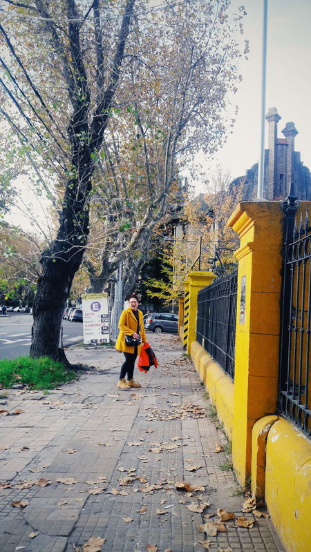 Otoño 2017The Street Photographer - 2017 EyeEm Awards One Person Real People Day Outdoors Tree Building Exterior Architecture Woman Portrait She Photography Walk Walking Around The City  Cold Days Cold Coldweather