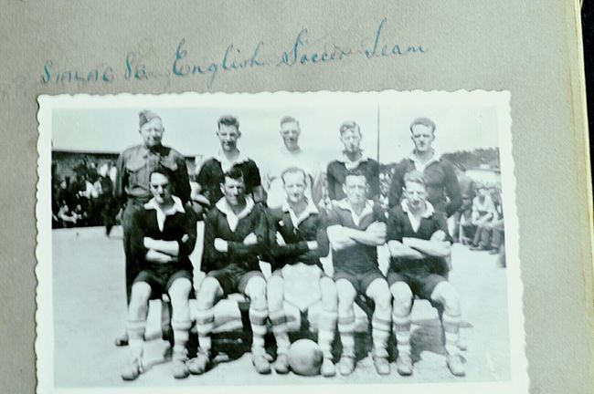 Original 2nd world war picture, mens football team STALG 8B. Hello World Check This Out Amazing Very Rare Pics. Eyem Gallery Eye4photography  EyeEm Best Shots - Black + White Remember The Fallen Remember Love Remember Them All. HEROES. I have more of these pictures let me know if you want to see them.