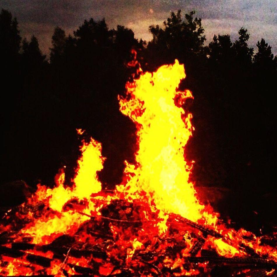 Midsummer Bonfires Juhannus Summer Summer2015 Summerfestival Finland
