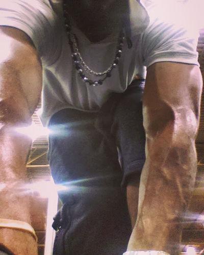 Dallas, Texas, Gym Arms Gains Power Pump Arm Day Close-up Gym Gym Life Men Muscles