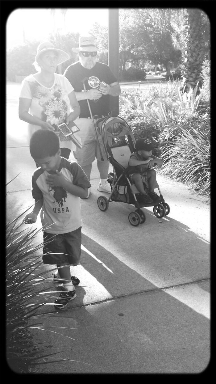 Going home after a day at the zoo Black And White Black & White Shadows Light And Shadow Jacksonville Zoo Jacksonville Florida