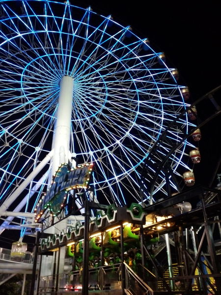 Facing your fear is bravery. Beautiful Hello World ✌ Open Edit Check This Out Hanging Out Star City, Manila, Philippines Ferris Wheel