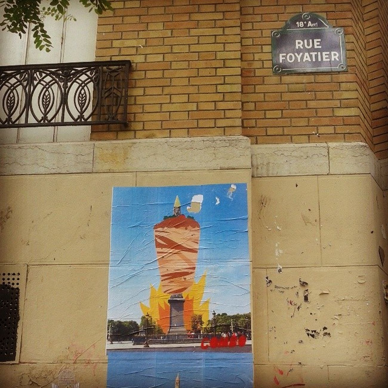 Donerlobisi Döner Paris Montmartre streetart parisart