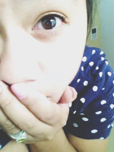 Brown Eyes And Polka Dots