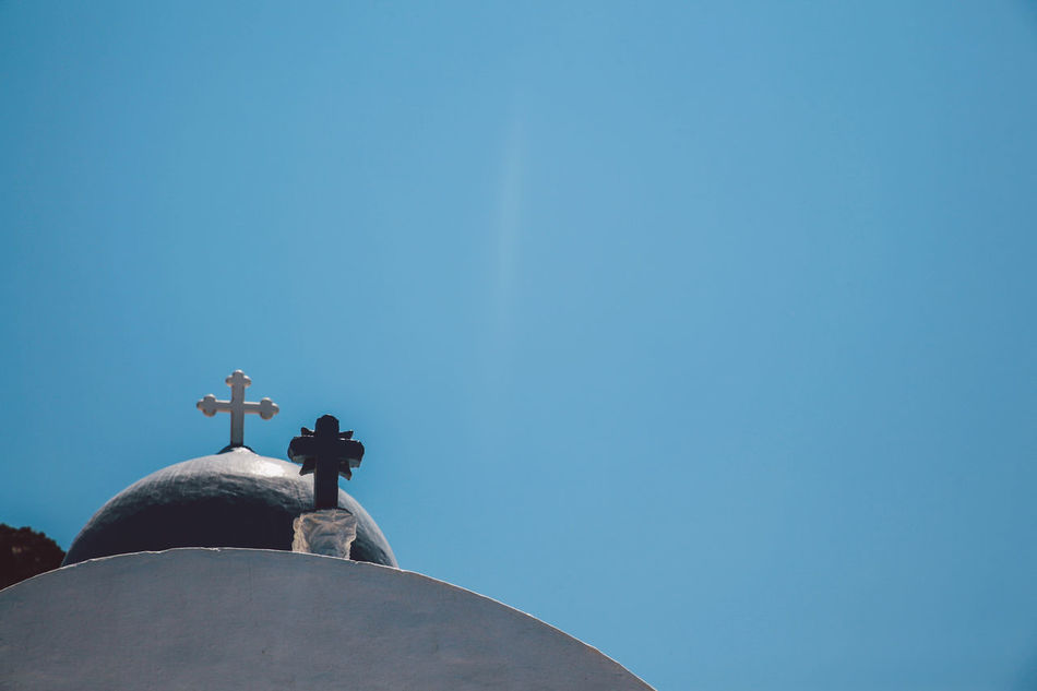 Beautiful stock photos of greece,  Blue,  Building Exterior,  Built Structure,  Christianity
