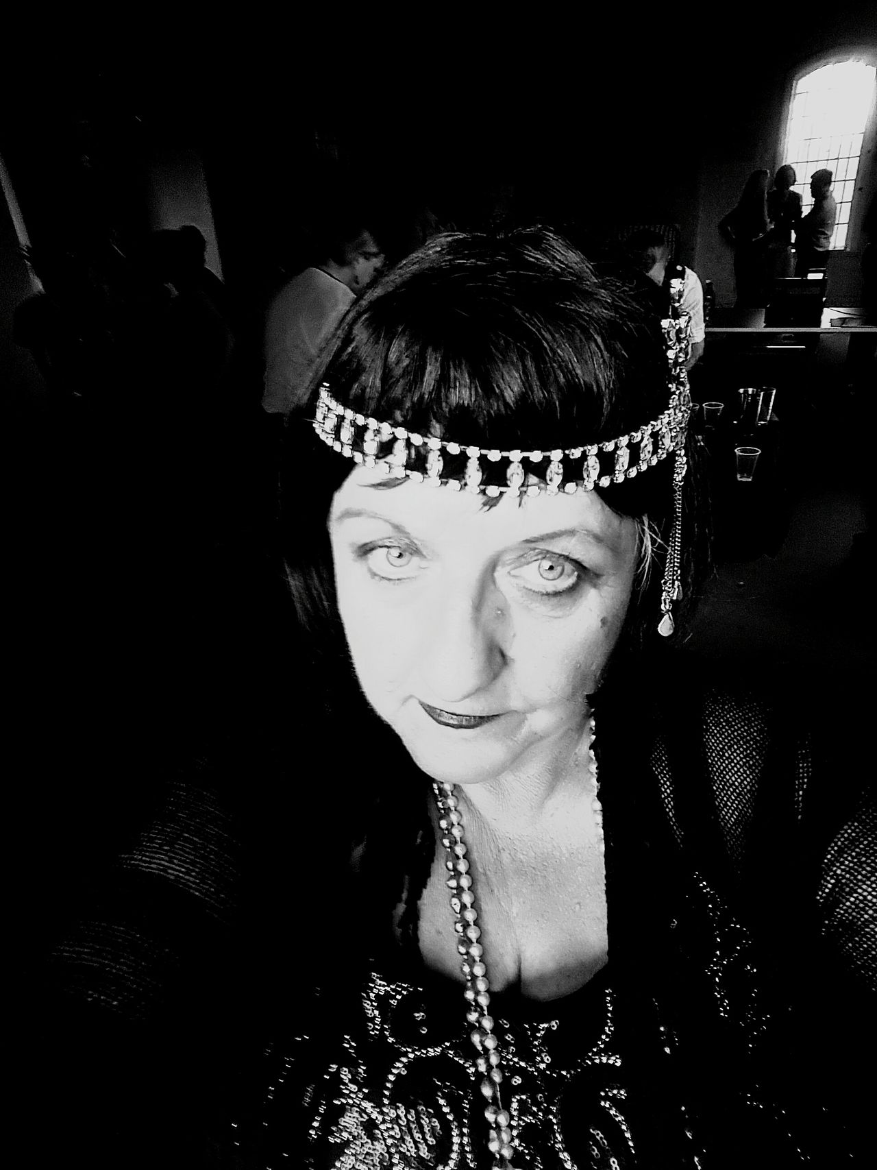 In the 20s In The 20s Nostalgic Look 1920s Blackandwhite Photography 20s Woman Flapper 1920