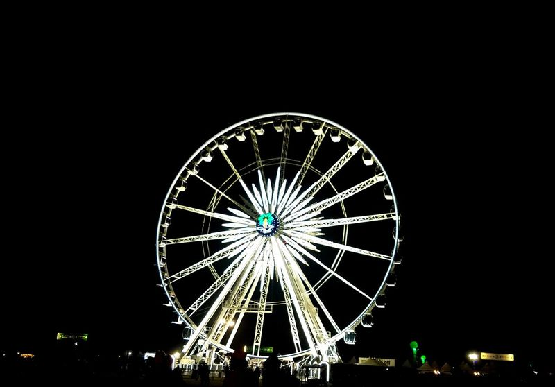 Ferris Wheel Outdoors Nightlife Arts Culture And Entertainment Night