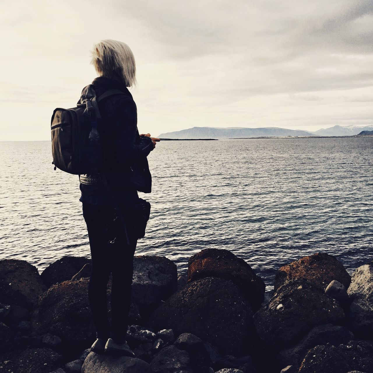 Beautiful stock photos of iceland, Backpack, Beauty In Nature, Casual Clothing, Cloud - Sky