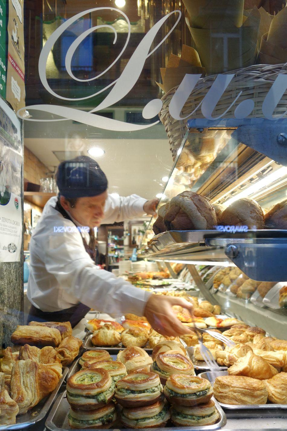 Pasteria Pastries Action Napoli Naples Italy