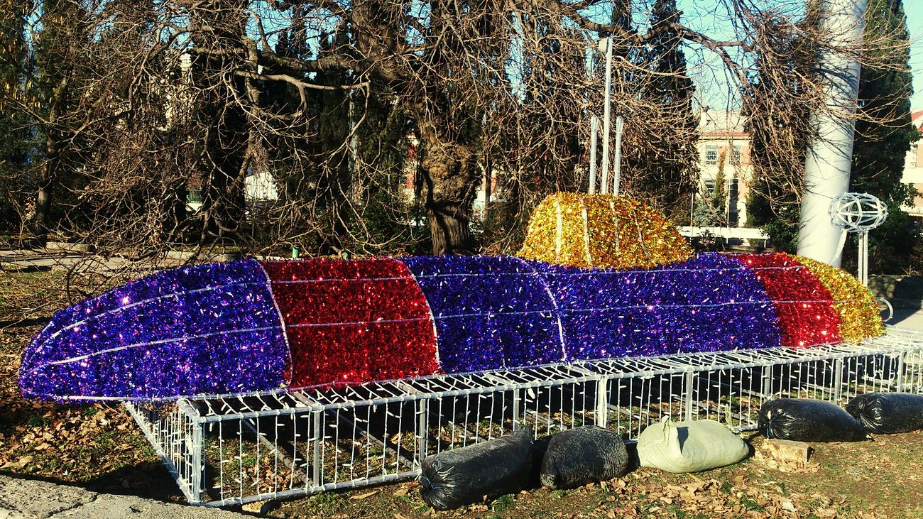 Multi Colored Sevastopol  Crimea Submarine Happy New Year