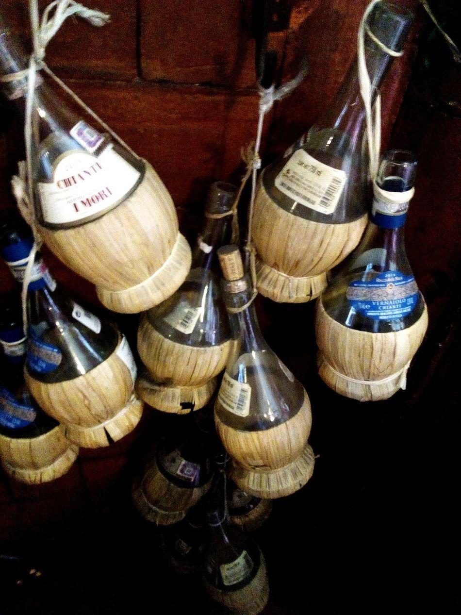 Wine Wineglass Bottles Collection Bottle