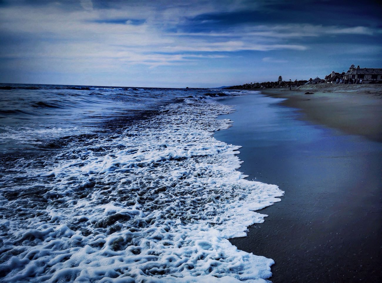 Blue for you 💙 EyeEm Best Shots EyeEm Best Edits EyeEm Nature Lover Beautiful Nature Melancholic Landscapes Dramatic Sky Romantic Landscape Open Edit Clouds And Sky Life Is A Beach