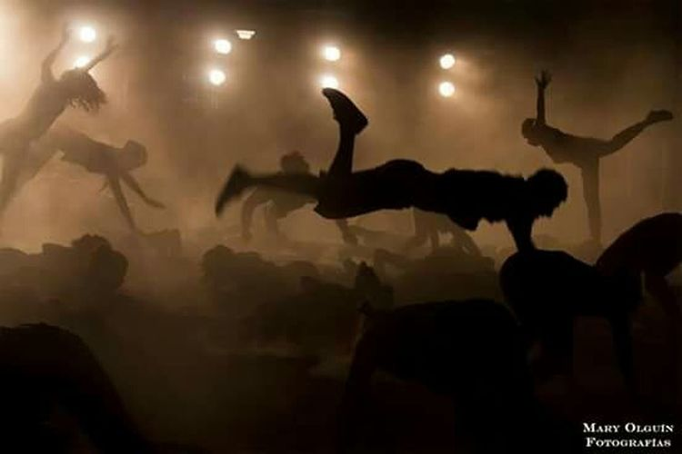 Obra Movimientos Music Art Great Performance Dance Santiago De Chile Febrero2015 Fotos.