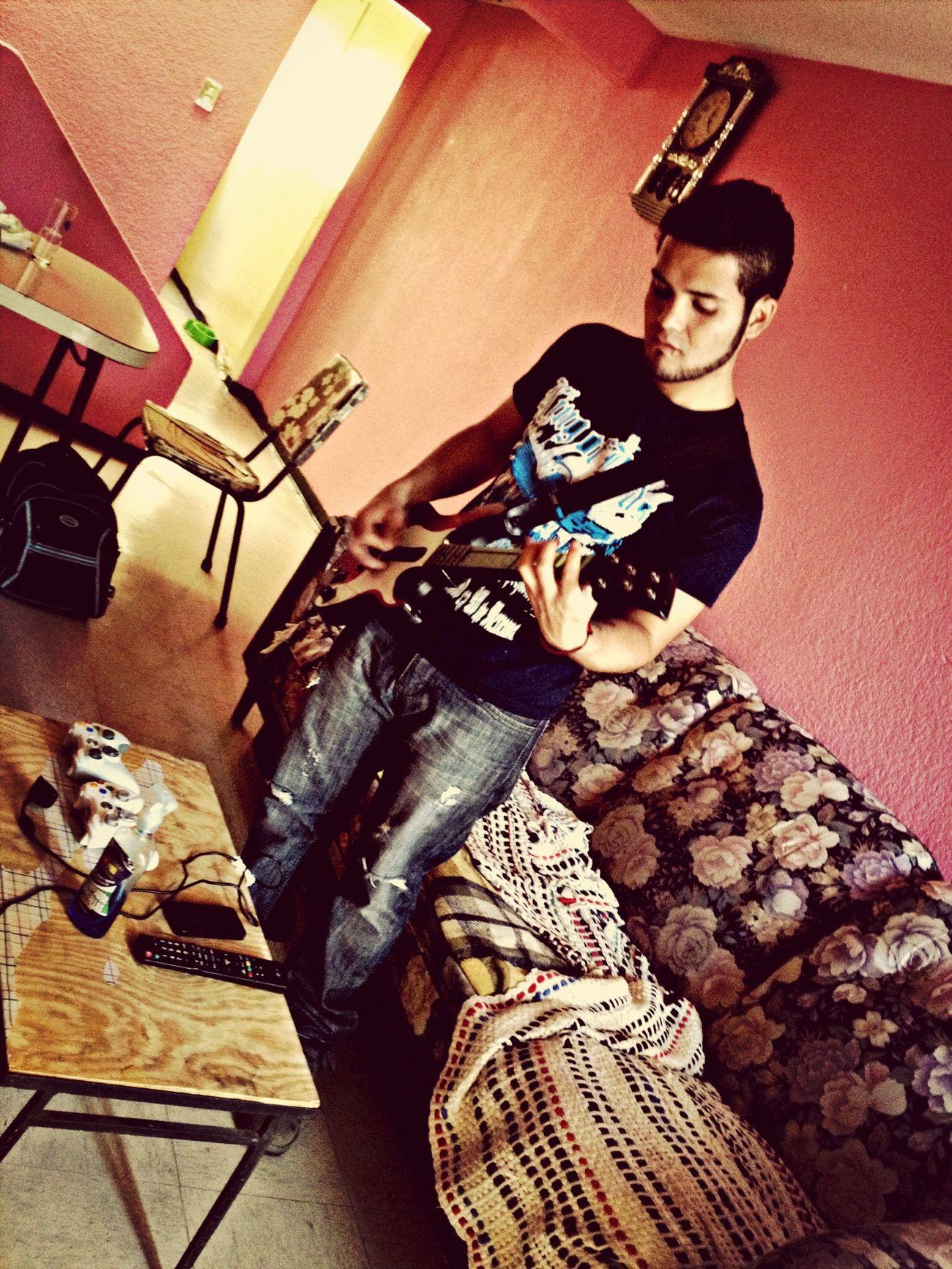 GuitarheroXbox 360 Playing.