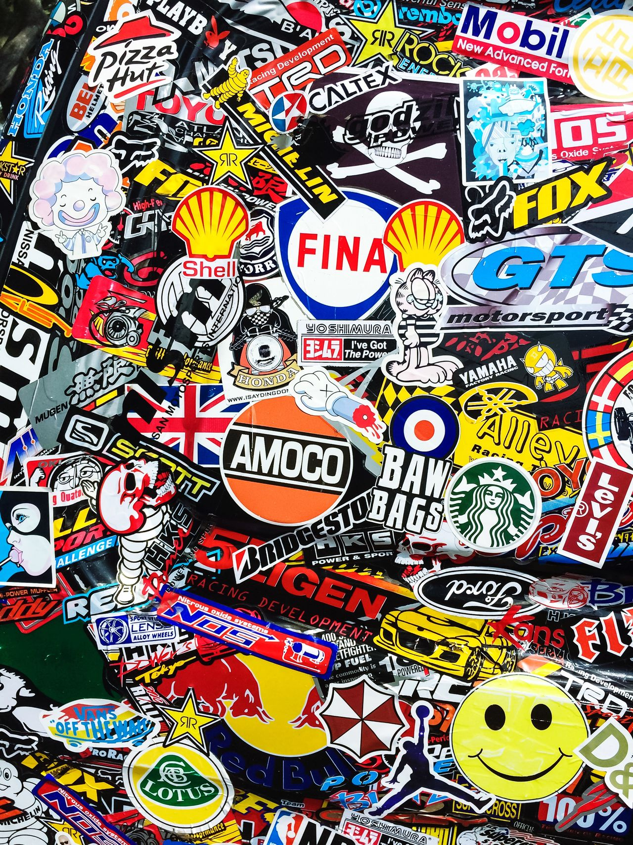 Stickerfest II Stickers Decal Brands  Colourful Logo Vinyl Label Decoration