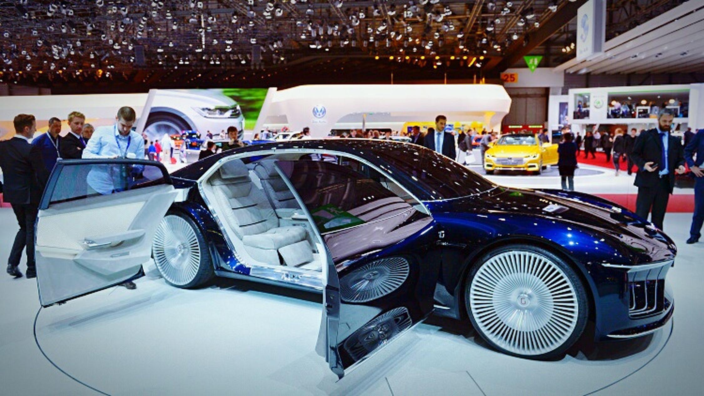 Most luxury car in da world ♡ Luxury Car Concept Giugiaro GEA ♥ GenevaInternationalMotorShow2015